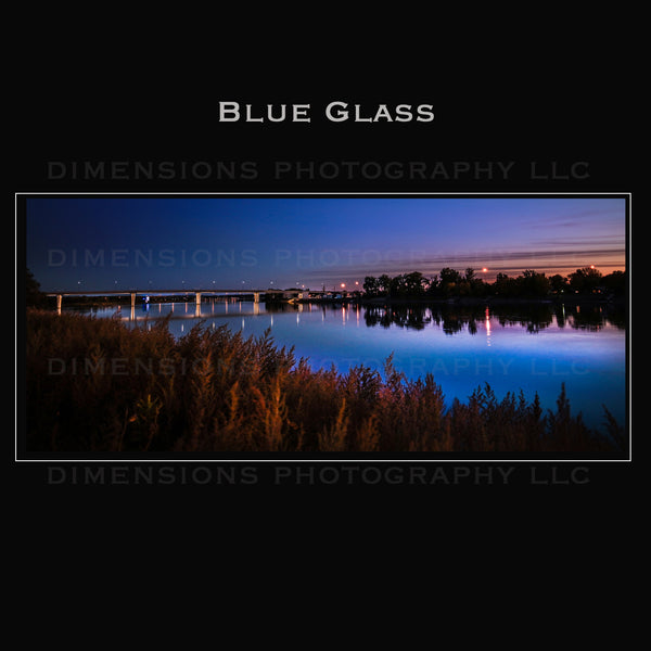 Blue Glass  |  Bismarck