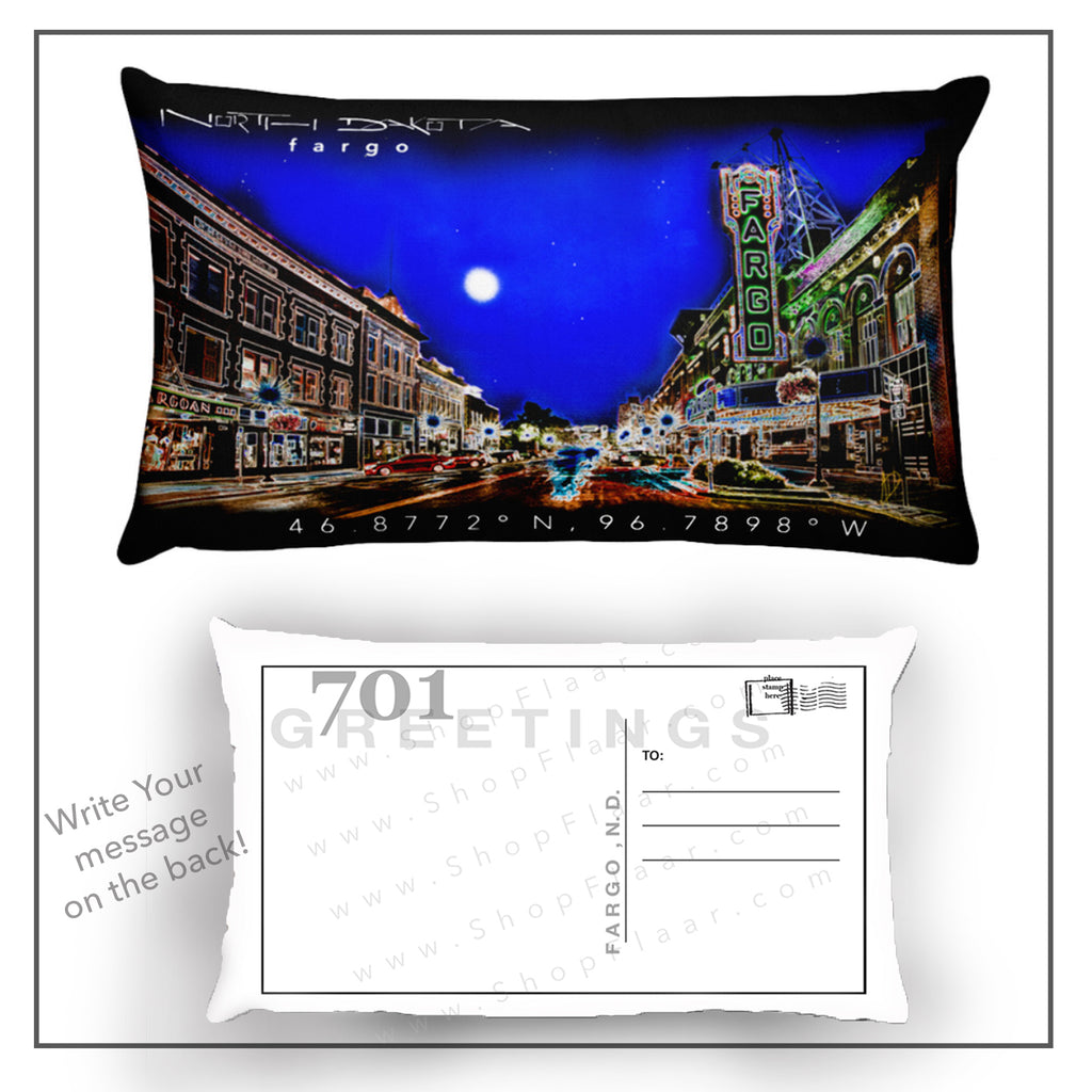 Fargo Postcard Pillow