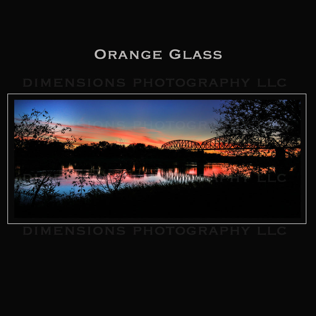 .ORANGE GLASS.