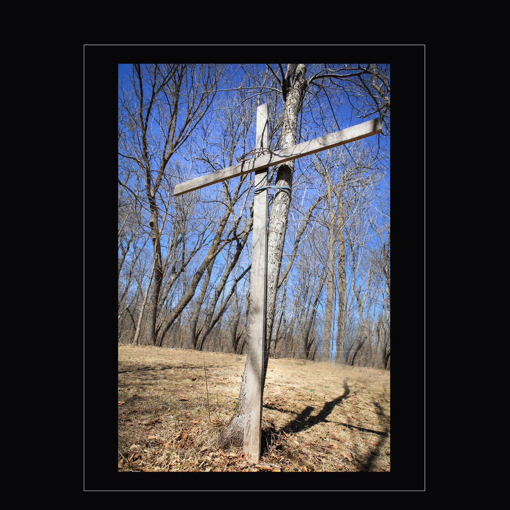 """The Old Wooden Cross"""