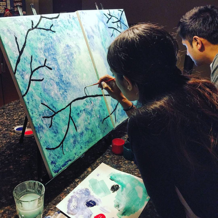 Painting to Gogh - Date Night at Home
