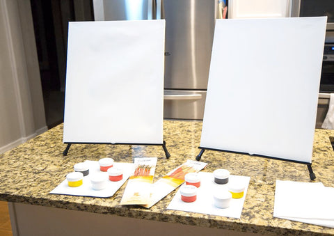 Painting to Gogh Paint at Home Kit Supplies