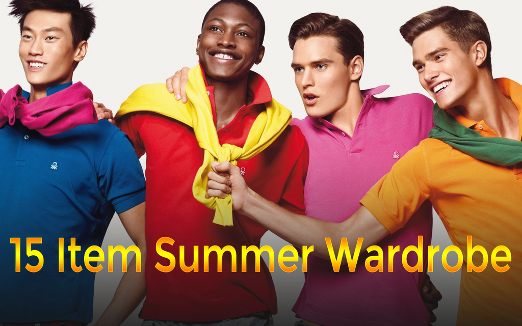 15 Item Summer Wardrobe | Business & Casual Wardrobe For The Summer