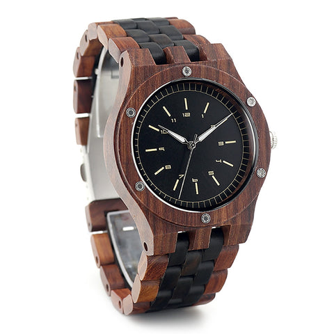 Axman Wooden Watch with Wooden Box