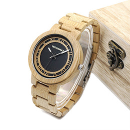 Badger Wooden Watch with Wooden Box