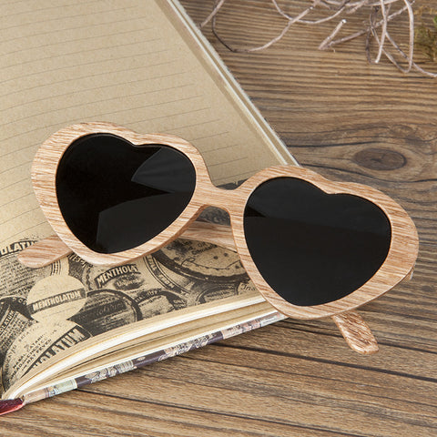 Calypso Lightwood Wooden Sunglasses with Wooden Box