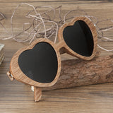 Circe Darkwood Wooden Sunglasses with Wooden Box