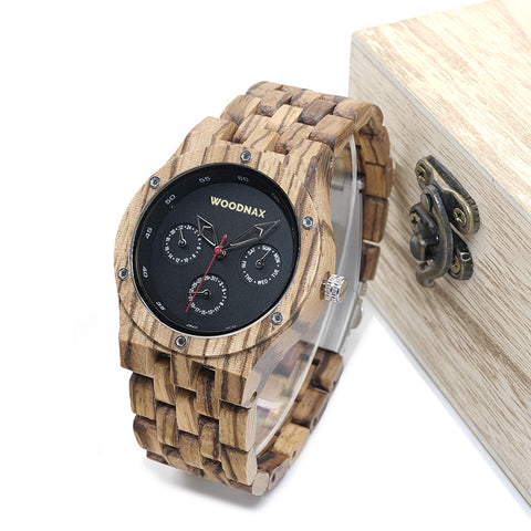 Scout Bamboo Watch
