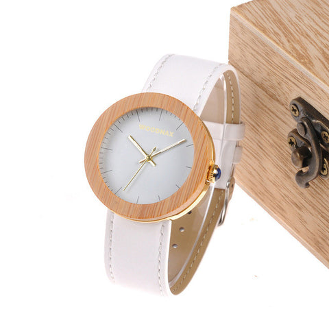 Tellus Bamboo Watch with Wooden Box