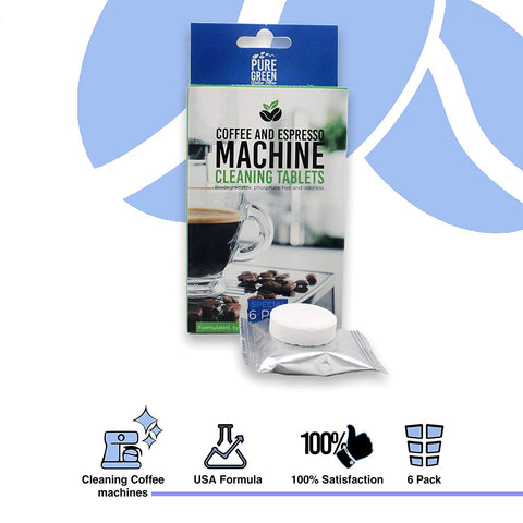 Jura 2-Phase Cleaning Tablets for Fully Automatic Coffee Machines