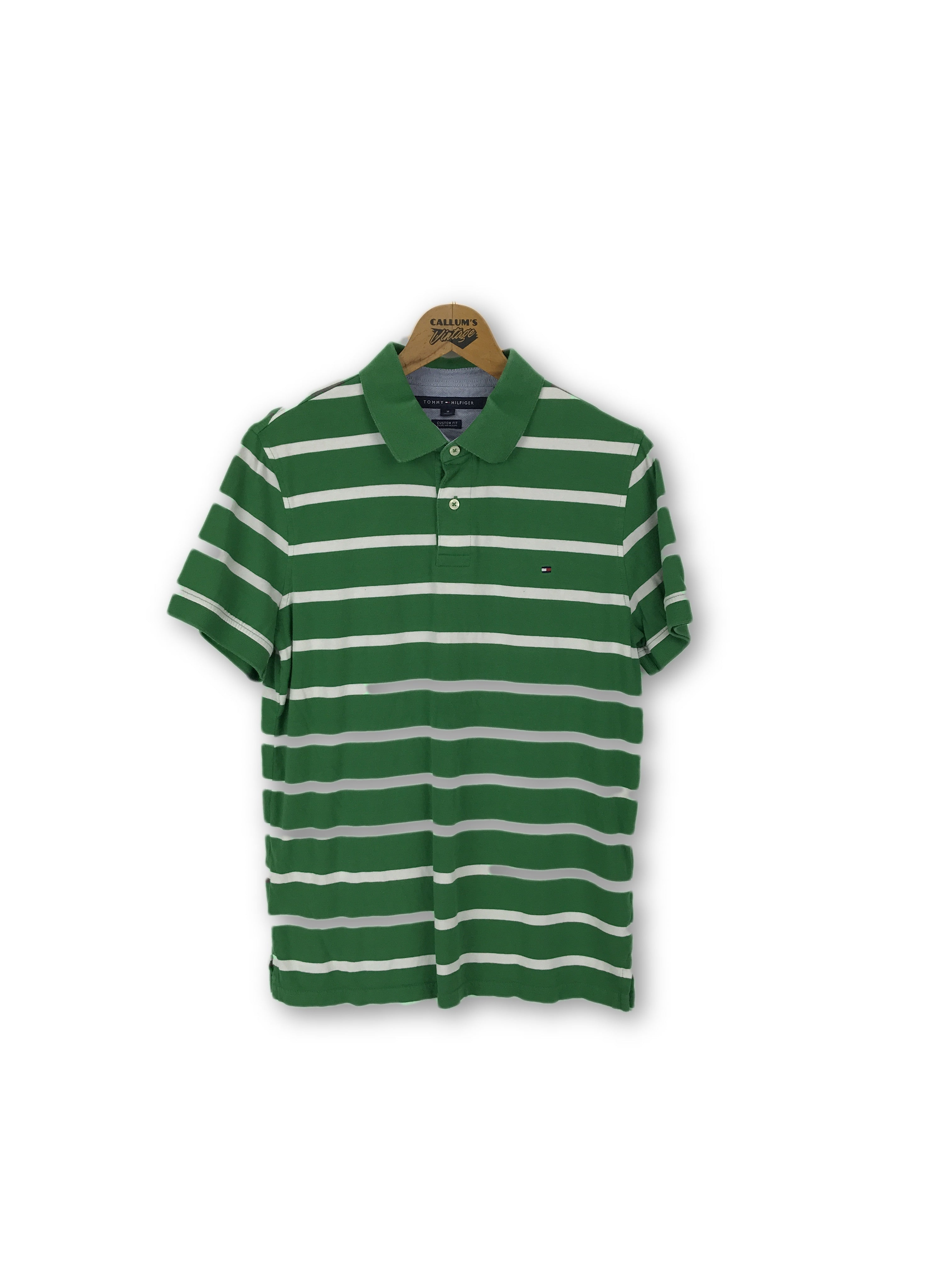 725f7772 Tommy Hilfiger Striped Polo Shirt Medium – Callum's Vintage
