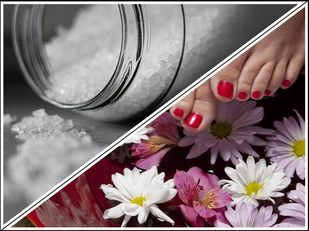 Pamper Your Feet with an Epsom Salt Foot Soak