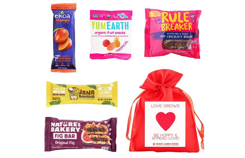 The Bunny James Seed Paper Healthy Snack Bag