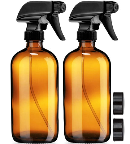 Cleaning Products 11 Glass Spray Bottles