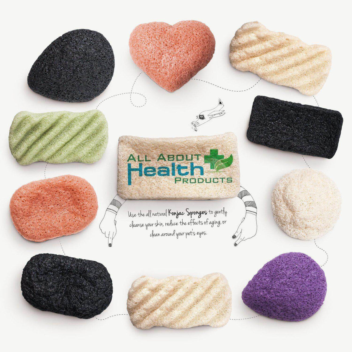 Konjac Sponge Women's Multi-Pack