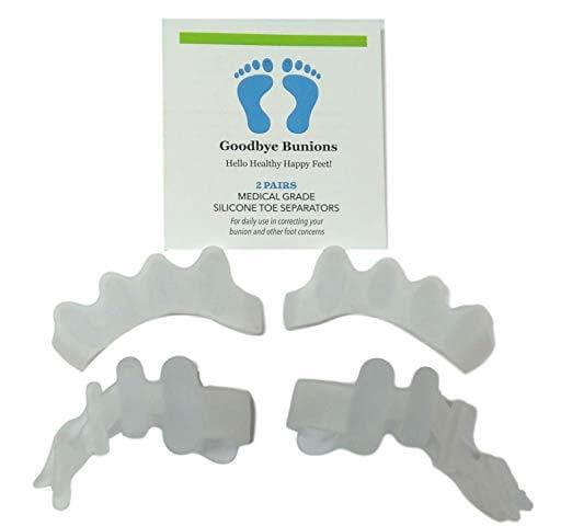 Toe Separators - Medical Grade Silicone Spacers (2 Pairs)