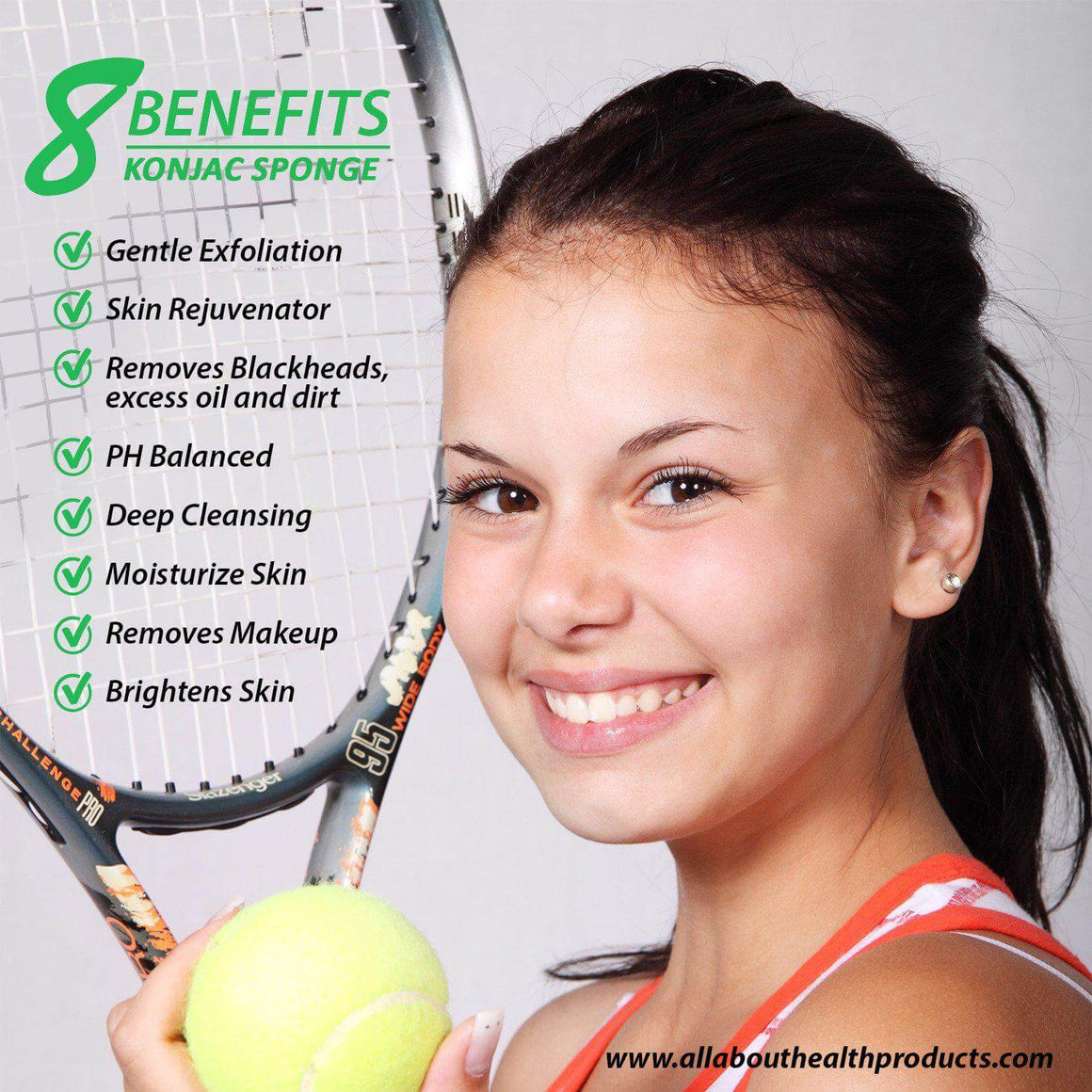 Konjac Sponge for Athletes