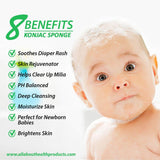 Benefits Konjac Sponge for Babies