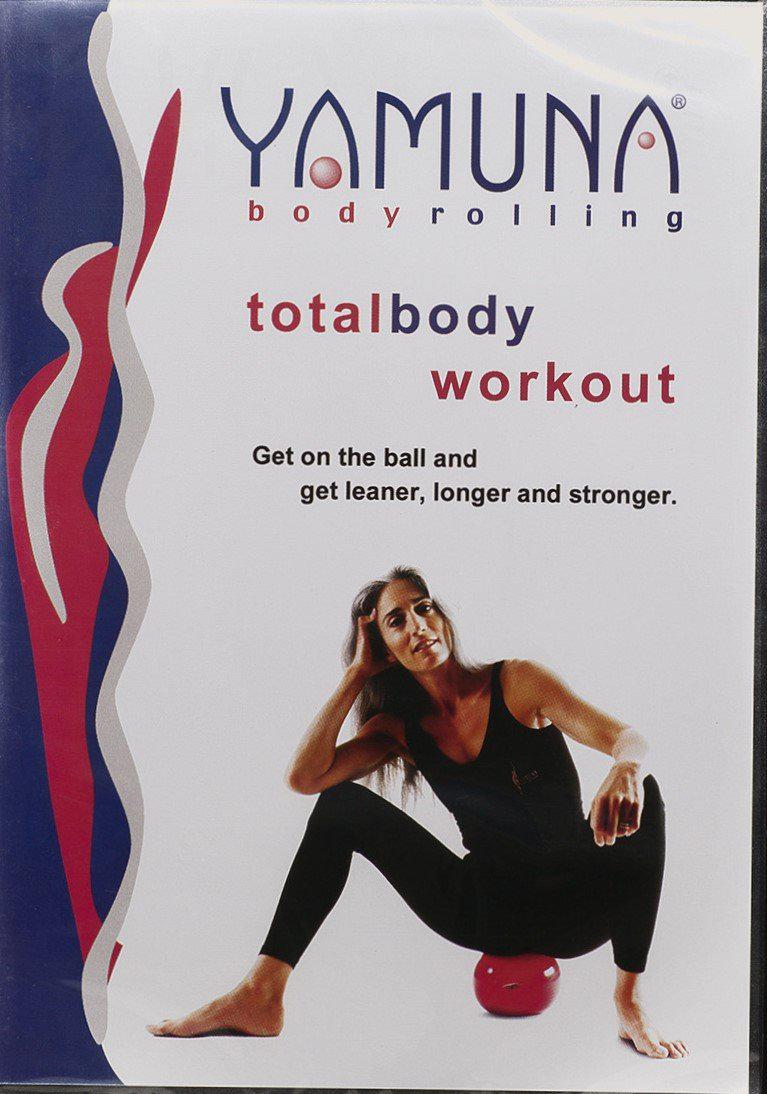 Yamuna Body Rolling Total Body DVD