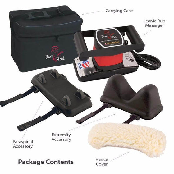 Jeanie Rub Massager Deluxe Package