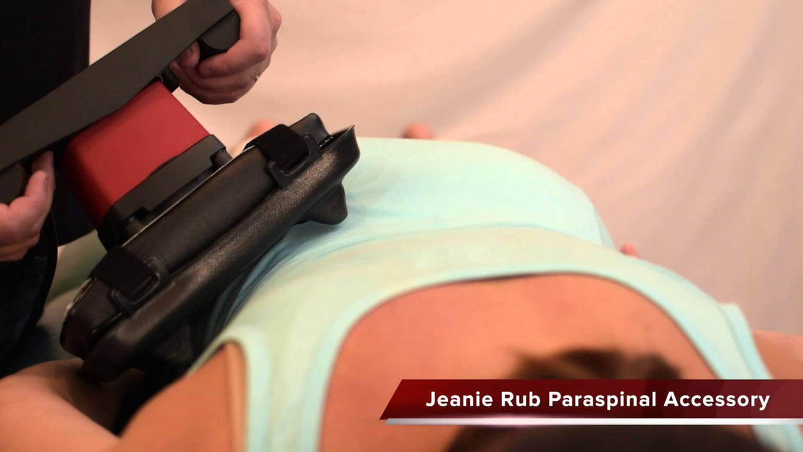 Jeanie Rub Massager Paraspinal Accessory