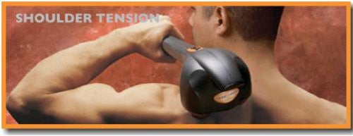 PowerFingers Deep Tissue Percussion Massager (Eurossager)