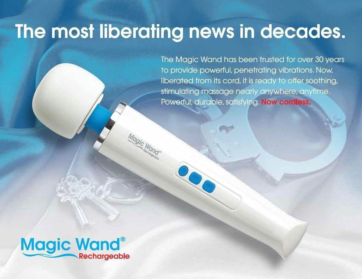 Magic wand rechargeable review