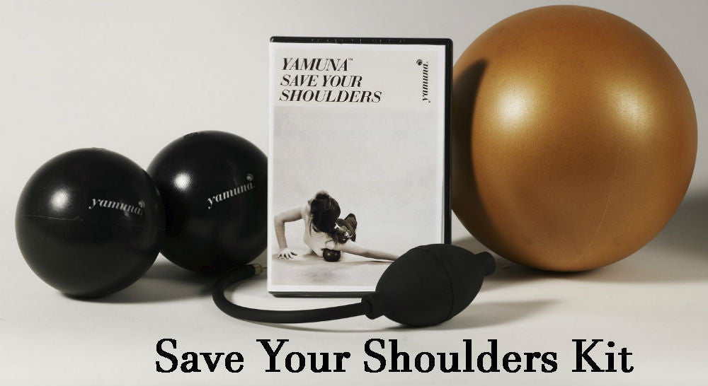 Yamuna Body Rolling Save Your Shoulders Kit