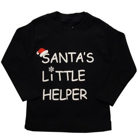 Santa's Little Helper Long Sleeved Top