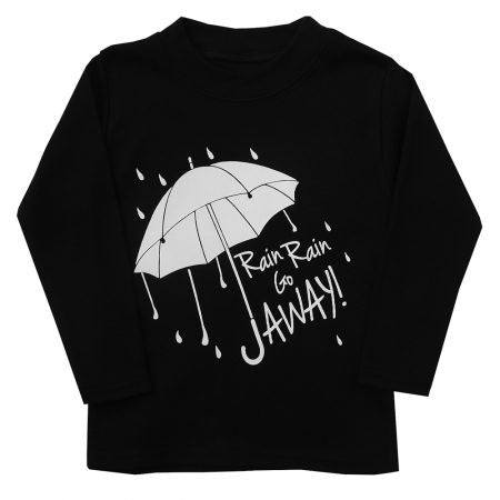 Rain Rain Go AWAY Long Sleeved Top *** LAST ONE 3-6 MONTHS ***