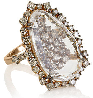 Chocolate Diamond Sands Ring