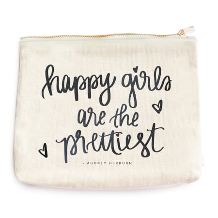 Happy Girls Cosmetic Bag