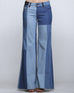 Jean Wide Leg Patch