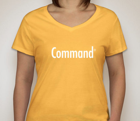Command T-Shirt (Ladies)