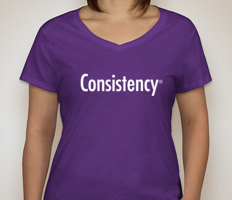Consistency T-Shirt (Ladies)