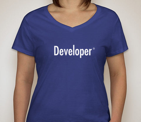 Developer T-Shirt (Ladies)