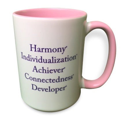 """Color Me Pink"" Strengths Mug"