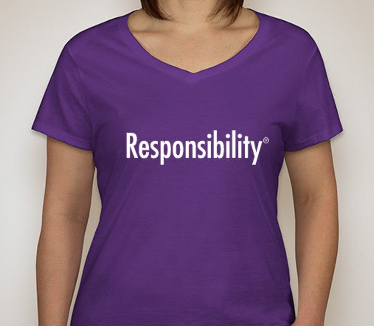 Responsibility T-Shirt (Ladies)