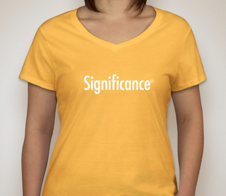 Significance T-Shirt (Ladies)