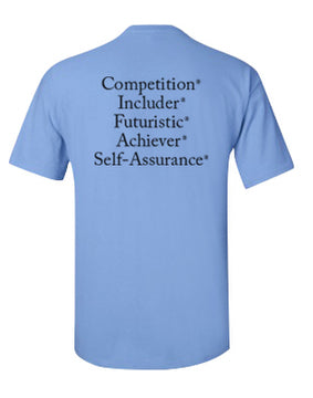 "StrengthsFinder ""Dri Fit"" T-Shirt (Blue)"