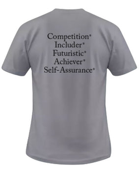 "StrengthsFinder ""Dri Fit"" T-Shirt (Silver)"