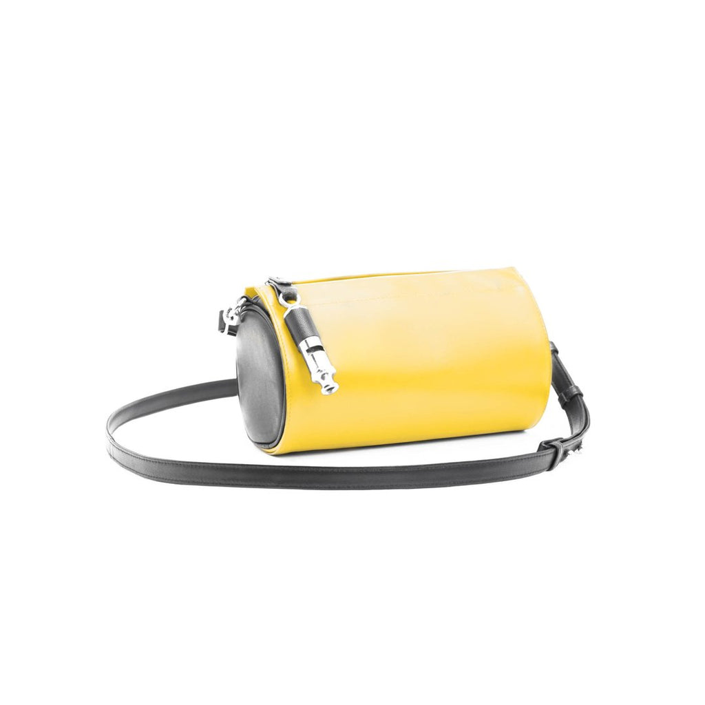 Gamechanger Barrel Cover- Solid Yellow Lambskin