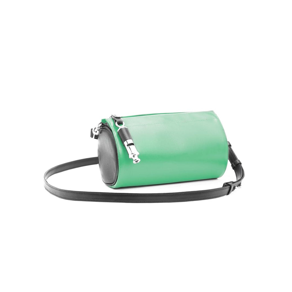 Gamechanger Barrel Cover- Solid Green Lambskin