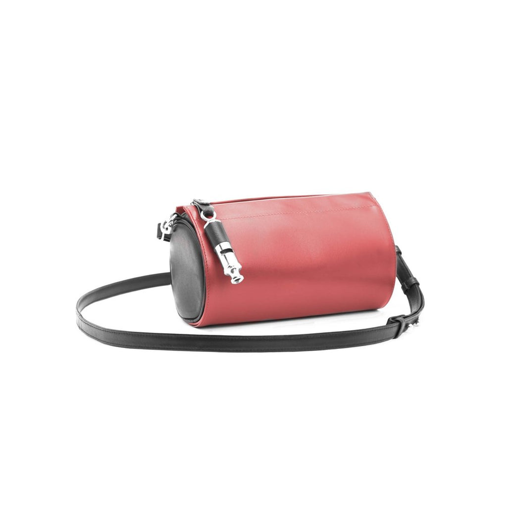 Gamechanger Barrel Cover - Solid Red Lambskin