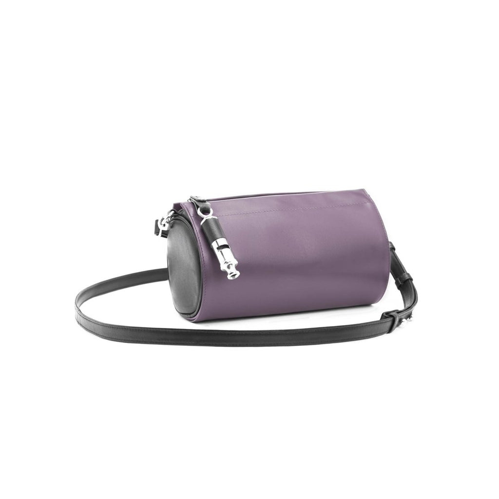 Gamechanger Barrel Cover- Solid Plum Lambskin