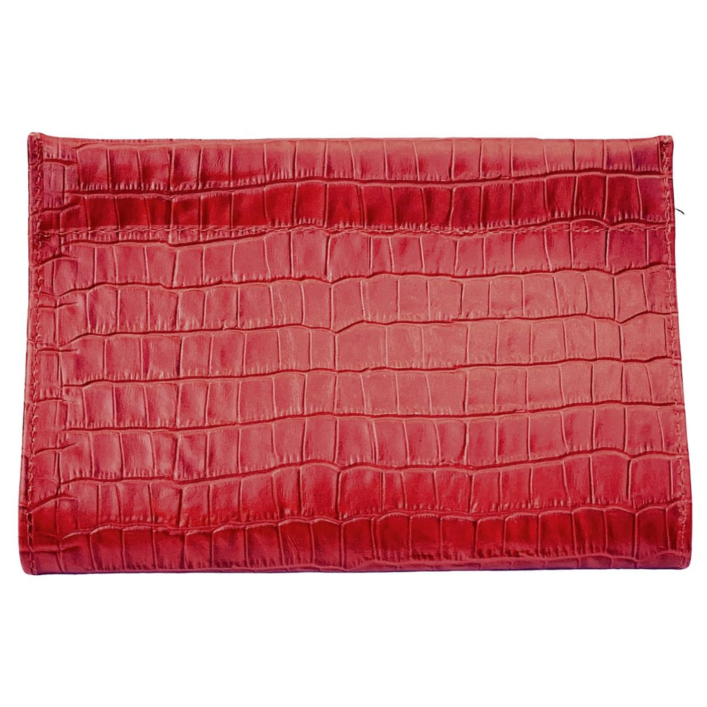 Red Crocodile 5-in-1 Convertible Crossbody