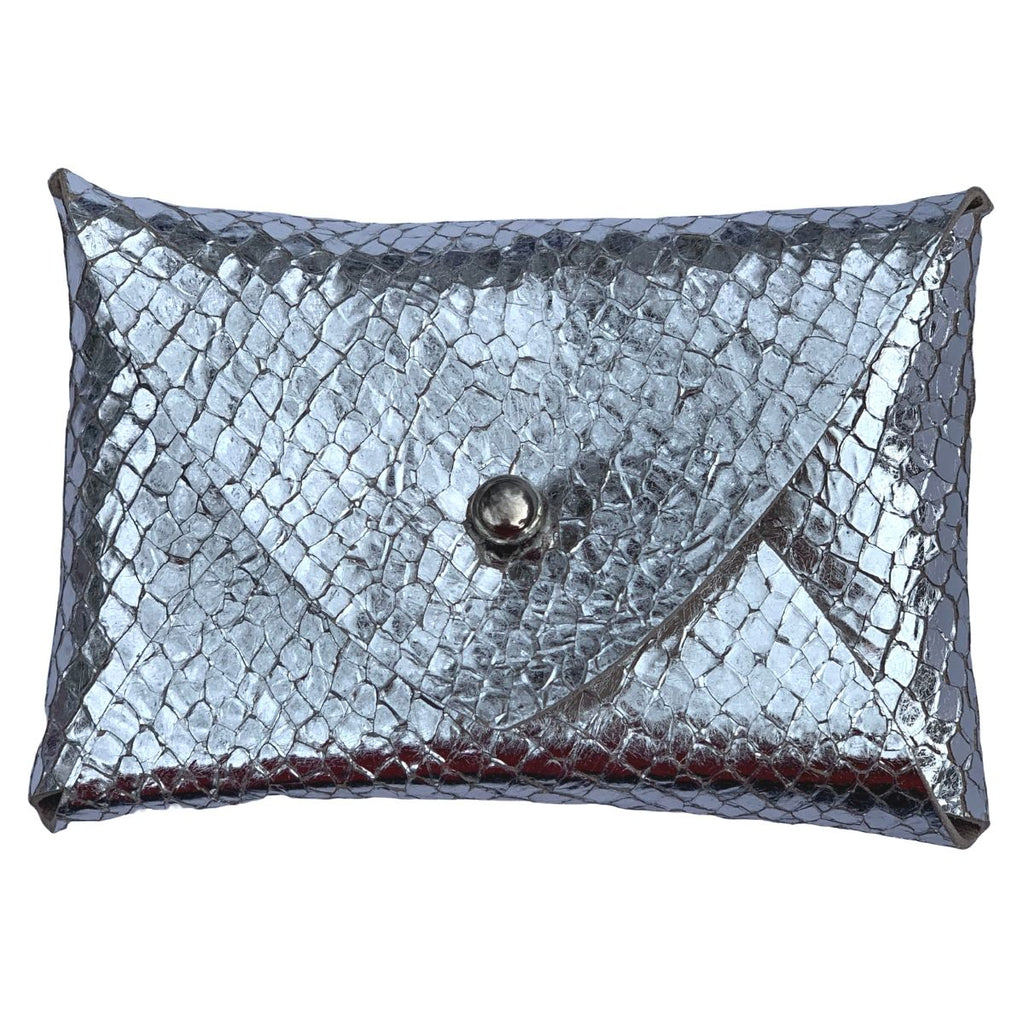 Mighty Mini Wallet - Metallic Disco Snakeskin