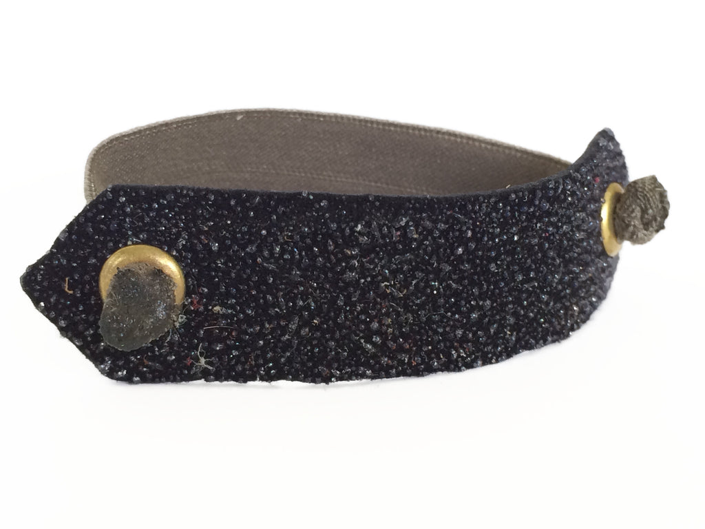 Pony Cuff - Textured Black
