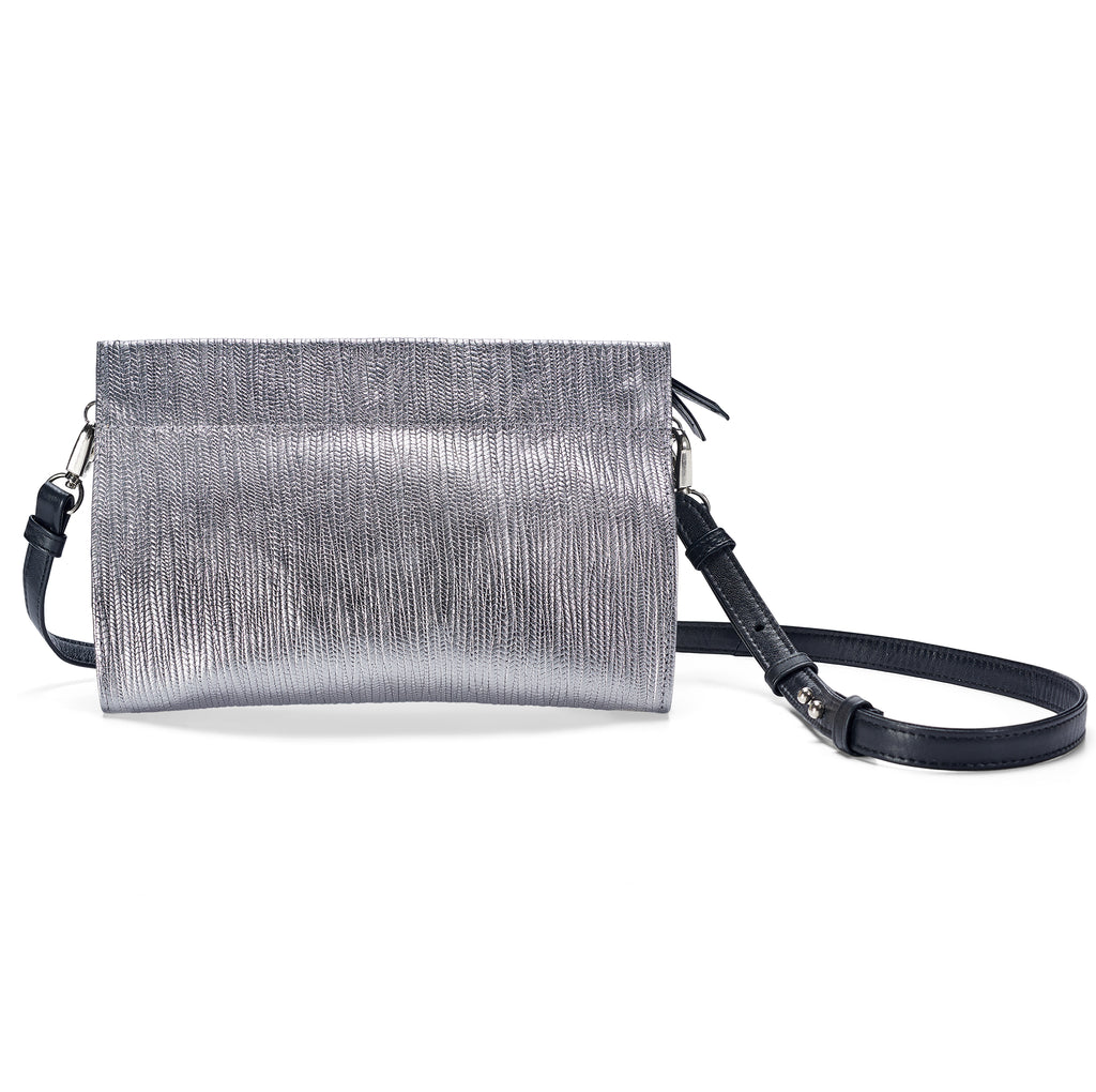 Gamechanger Classic Metallic Lizard 5-in-1 Convertible Crossbody