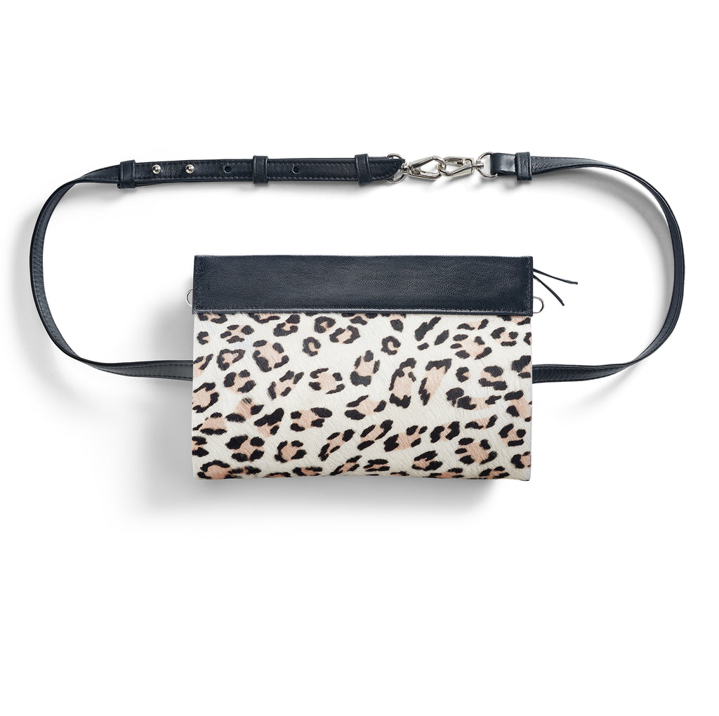 Gamechanger Classic Beige Cheetah 5-in-1 Convertible Crossbody
